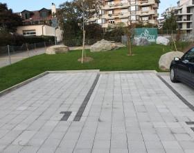Aménagement de places de parcs